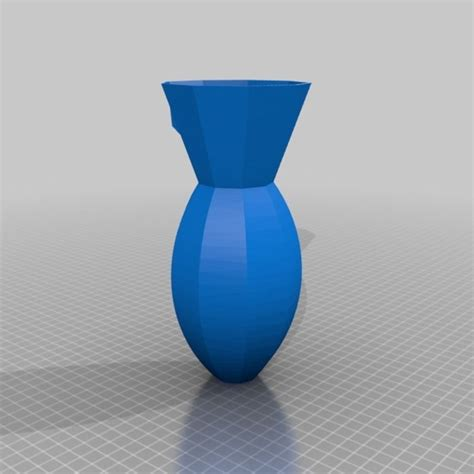 3d Vase by Wall Vase Free 3d Model 3d Printable Stl Cgtrader