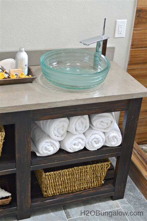 bathroom vanity shelving ideas hometalk build an open shelf bathroom vanity