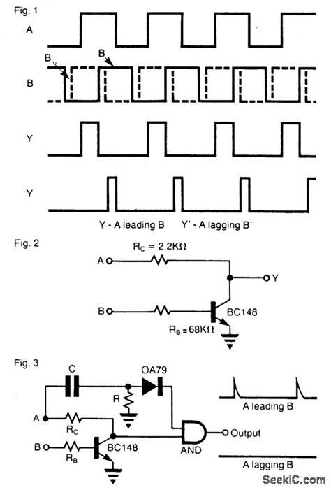 phase detector circuit diagram sinple phase detector circuit measuring and test circuit