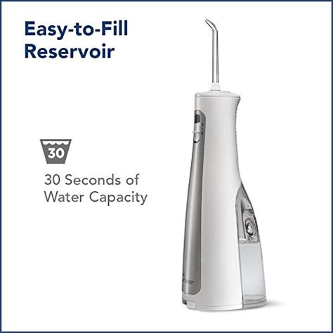 Waterpik Cordless Freedom Water Flosser from usa waterpik cordless freedom water flosser wf 03 white b0173pdoma free shipping