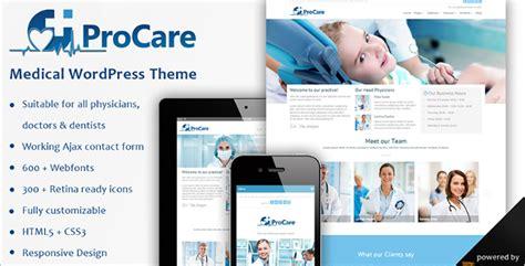 medical wordpress themes templates free premium
