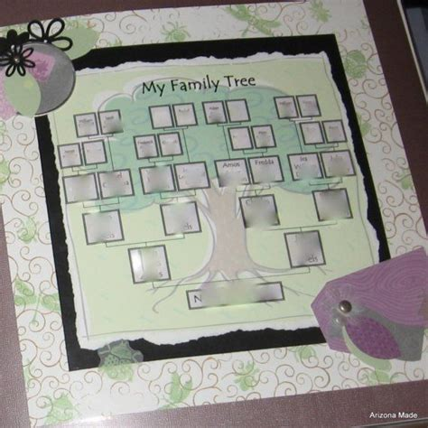 family tree template family tree template etsy