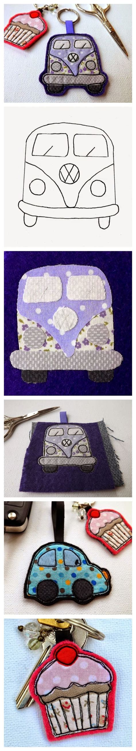felt vw pattern felt vw cer van keyring with pattern and tutorial also