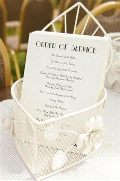 1000 images about order of service on order of service wedding programs and