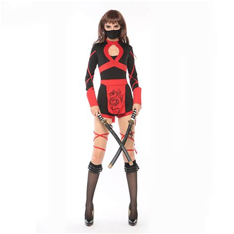 ninja costume pattern for adults female assassin costume reviews online shopping female
