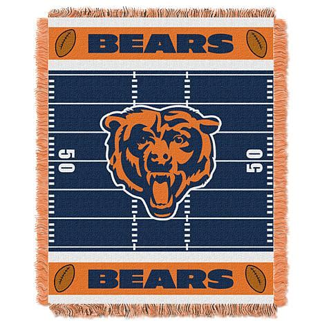 chicago bears bedding the northwest company mini throw chicago bears 7239698