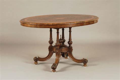 tavolo stile inglese tavolo ovale in stile inglese xix secolo antiquariato e