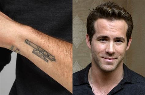 ryan reynolds leg tattoo wrist i