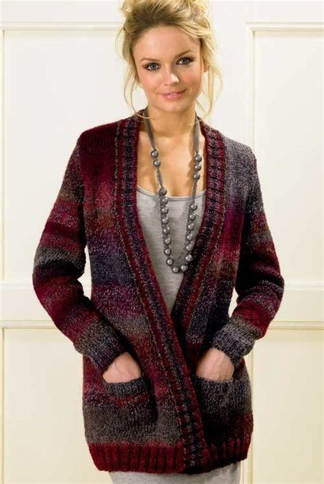 bulky sweater knitting patterns pocket cardigan knitting pattern in bulky yarn and more