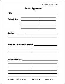 science report template ks2 free printable science report forms