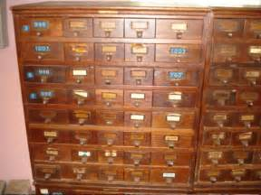 Index Card File Cabinet Index Card File Cabinet Antique Jd Warren Mfg Chicago 40 Catalog Drawers Oak Ebay
