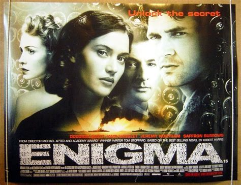 film enigma war enigma original cinema movie poster from pastposters com