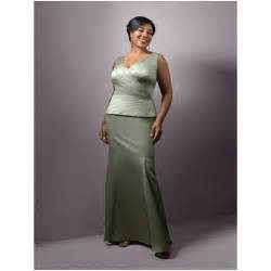 Plus size mother of the bride evening dresses