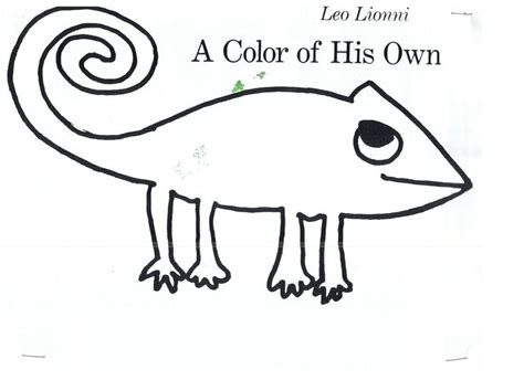 mixed up chameleon template 17 best images about preschool book a color of his own on