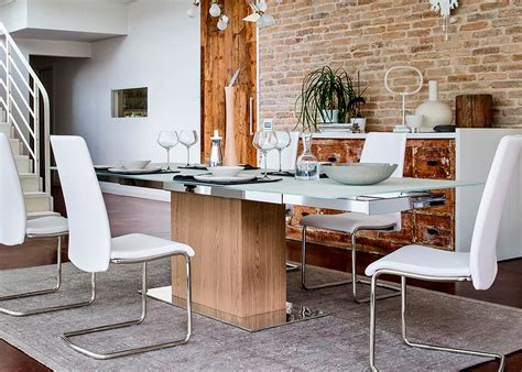 Calligaris Park Dining Table Calligaris Park Glass Table Midfurn Furniture Superstore