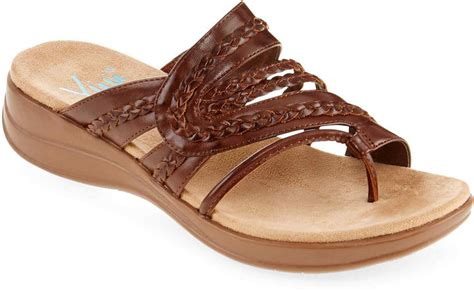 jcpenney shoes sandals jcpenney yuu yuu jabiana sandals shopstyle canada