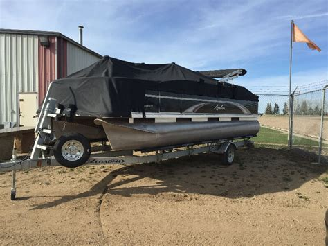 used pontoon boats edmonton boats for sale in edmonton area cars vehicles kijiji