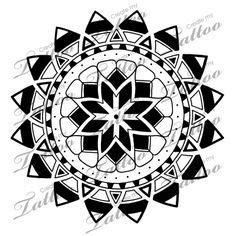 marketplace tattoo polynesian sun stars tattoo 5206