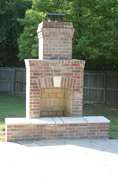 Outdoor Masonry Fireplace Plans by Creative Outdoor Fireplace Designs And Ideas