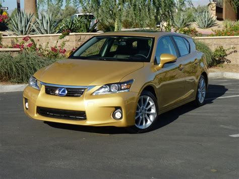 lexus gold 2011 lexus ct 200h premium review