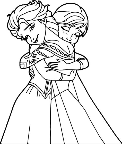 elsa and anna hugging coloring pages 101 frozen coloring pages november 2017 edition elsa and