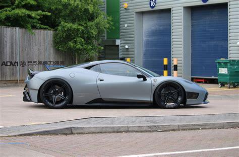 grey ferrari gray ferrari 458 italia adv05 m v2 sl wheels adv 1 wheels