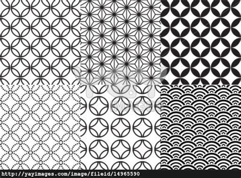 japanese pattern meaning japanese patterns set of and design on pinterest