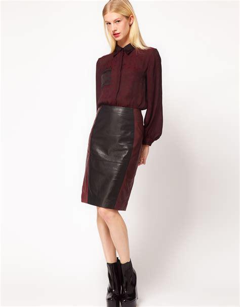 10 leather skirts 200 fashion inspo