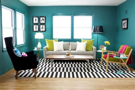 black white and green living room 40 accent color combinations to get your home decor wheels turning