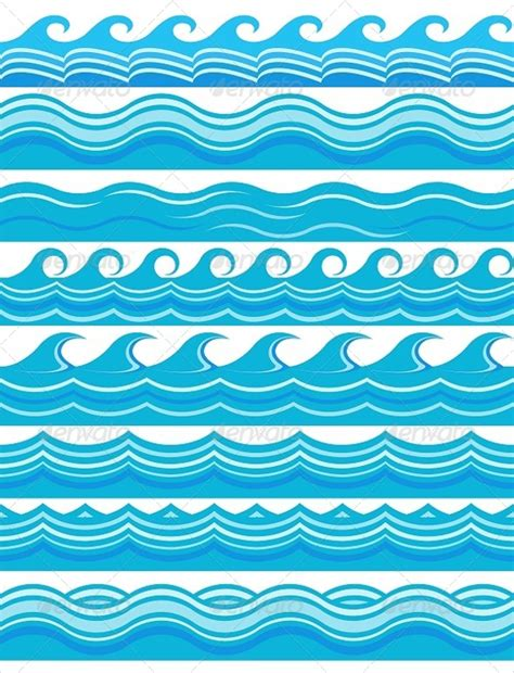blue pattern wave 18 wave patterns free psd ai eps format download