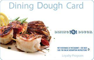 Dining Dough Gift Card Restaurants - 100 dining dough gift card 20 per case promo premiums promo premiums