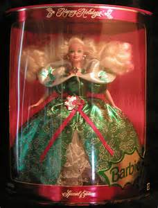 Holiday barbie 1995