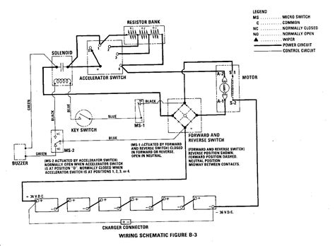 legend golf cart wiring diagram zone golf cart wiring