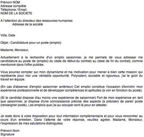 Lettre De Motivation Par Mail Restauration Les 25 Meilleures Id 233 Es Concernant Lettres De Motivation Et Cv Sur Exemples De