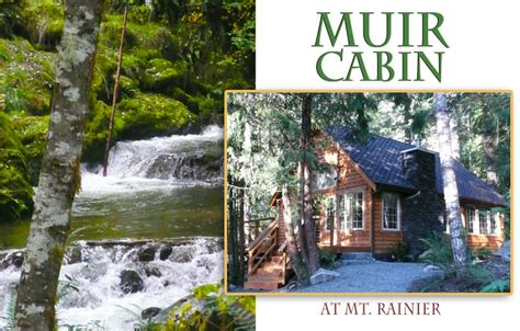 muir cabin at mount rainier copper creek resort