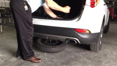tires for 2005 hyundai santa fe how to remove spare tire hyundai santa fe