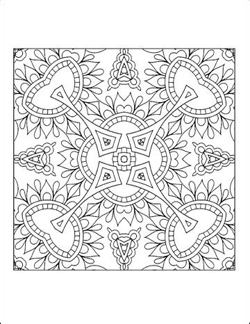 free printable coloring pages for adults geometric free printable geometric coloring pages for adults