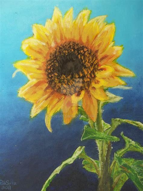 manufacturer famous sunflower painting famous sunflower sunflower acrylic paint by robspitz on deviantart