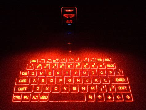 Proyektor Keyboard Magic Cube Projection Keyboard And Multi Touch Mouse