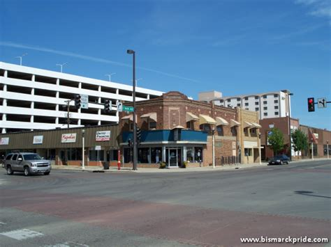 Home Decor Stores In Bismarck Nd by Picture Of Intersection Of Main Avenue Amp 5th Street In