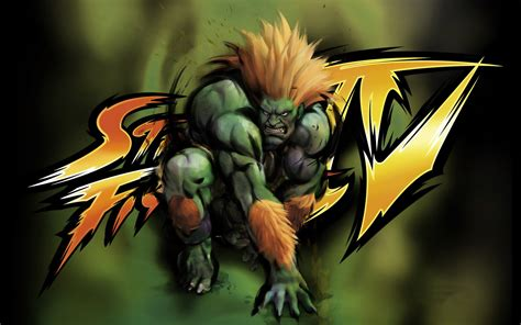 blanka street fighter  game hd wallpaper preview