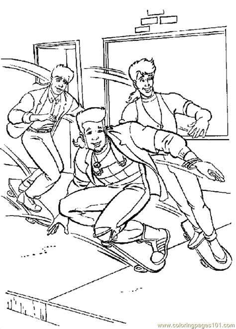 skateboarding coloring pages free printables coloring pages skateboarding boys coloring pages 7 com