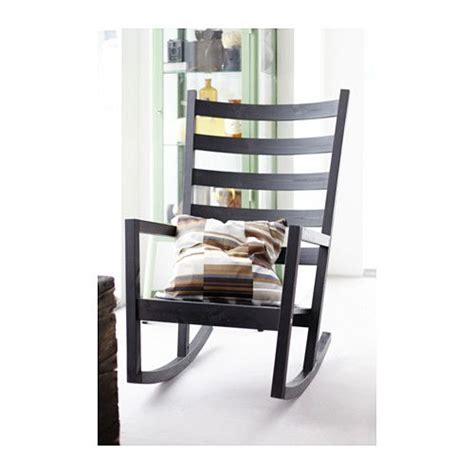 ikea active sitting chair v 196 rmd 214 rocking chair in outdoor black brown stained