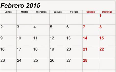 Calendario De Este Mes Belleza Bienvenido Mes De Febrero 2015