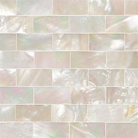 tile pattern running bond daltile small rectangular mother of pearl wall tile in a