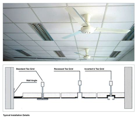 Ceiling Tile Installation Acoustical Ceiling Installation Images