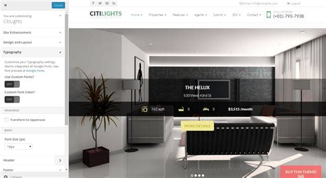 themeforest membership citilights real estate wordpress theme by nootheme