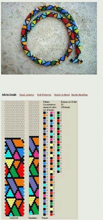 Perlenweben Vorlagen Muster pin mei 223 ner auf ketten h 228 keln