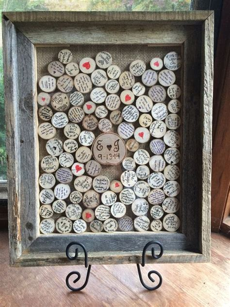picture frame guest book ideas 25 best ideas about rustic wedding favors on
