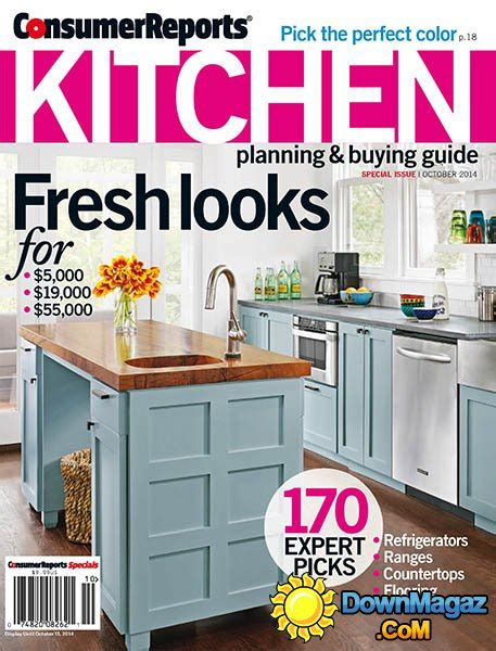 Home Design Consumers Guide by Consumer Reports Kitchen Planning And Buying Guide